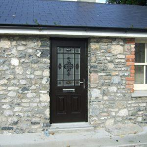 Bog Oak Cairo Door, composite door, palladio door, entrance door, front door