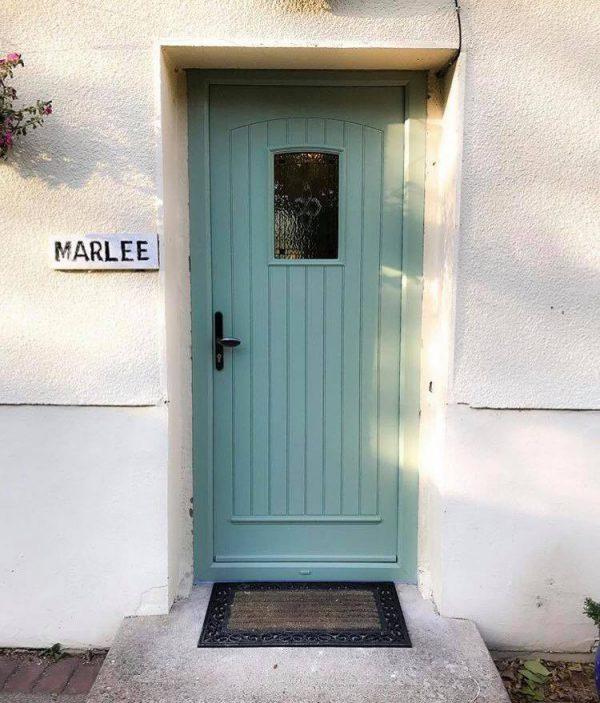 lowest price 411a0 2c2de T & G Solid Chartwell Green Composite Front Door - Palladio ...