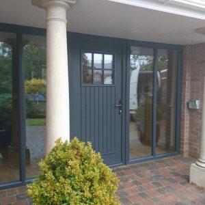Dublin door anthracite grey, composite door, entrance door, front door