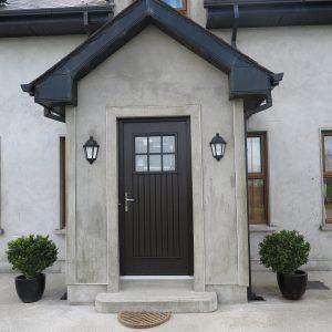 Bog Oak Dublin Front Door