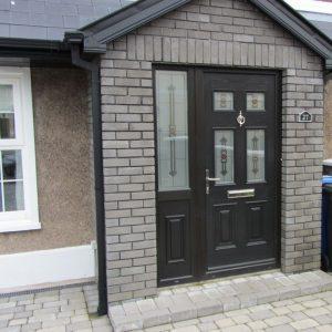 Bog Oak Georgian 2 Composite Door