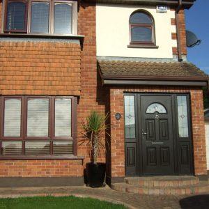 Bog Oak Sunbeam 1 Composite Front Door