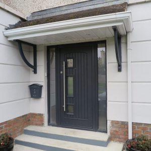 Bog Oak Turner Composite Front Door