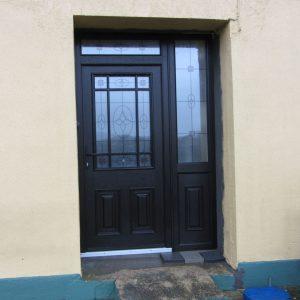 Cairo Black Bog Oak Palladio Front Door