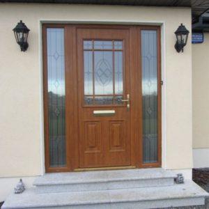 Cairo Composite Light Oak Front Door
