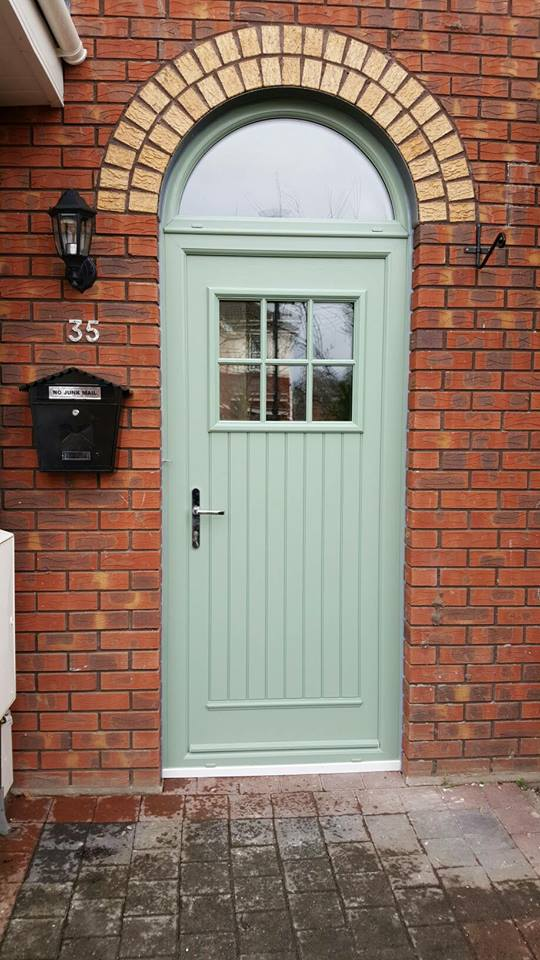 installation of the week, palladio door, composite dublin door