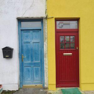 Dublin Front Door In Cherry Red