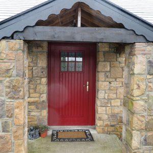 Dublin Red Front Door