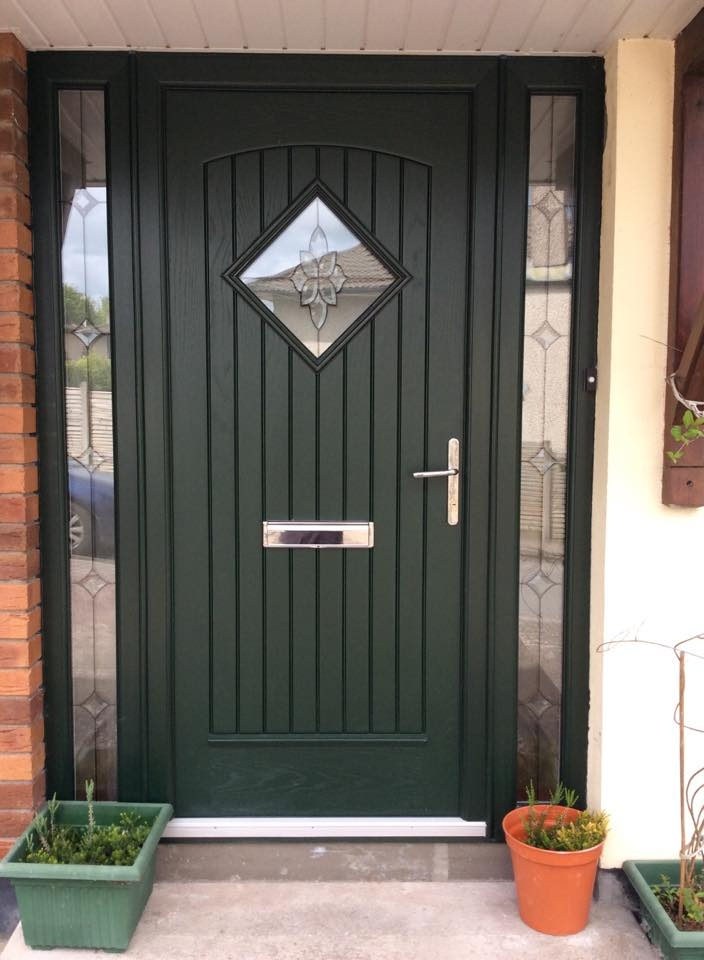 Edinburgh door in green - My CMS