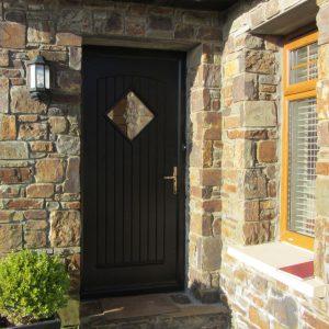 Edinburgh Front Door Style In Bog Oak