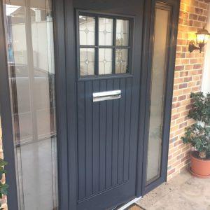 Dublin door, anthracite grey, palladio door, composite door, entrance door, front door