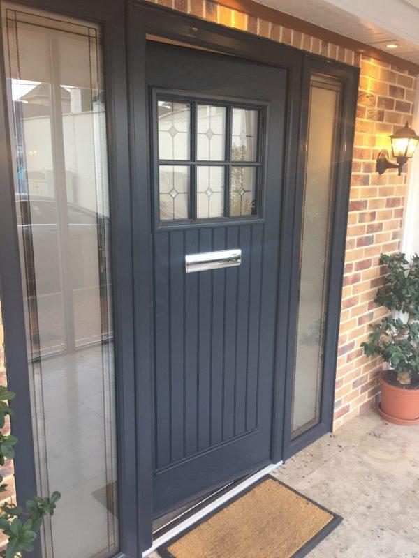 Dublin Front Door in Anthracite Grey