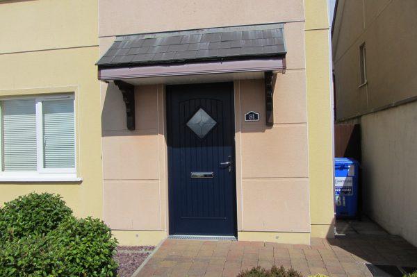 Blue Edinburgh Front Door