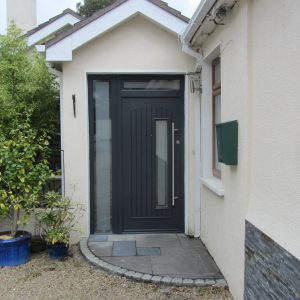 Rome composite door from the Palladio Door Collection