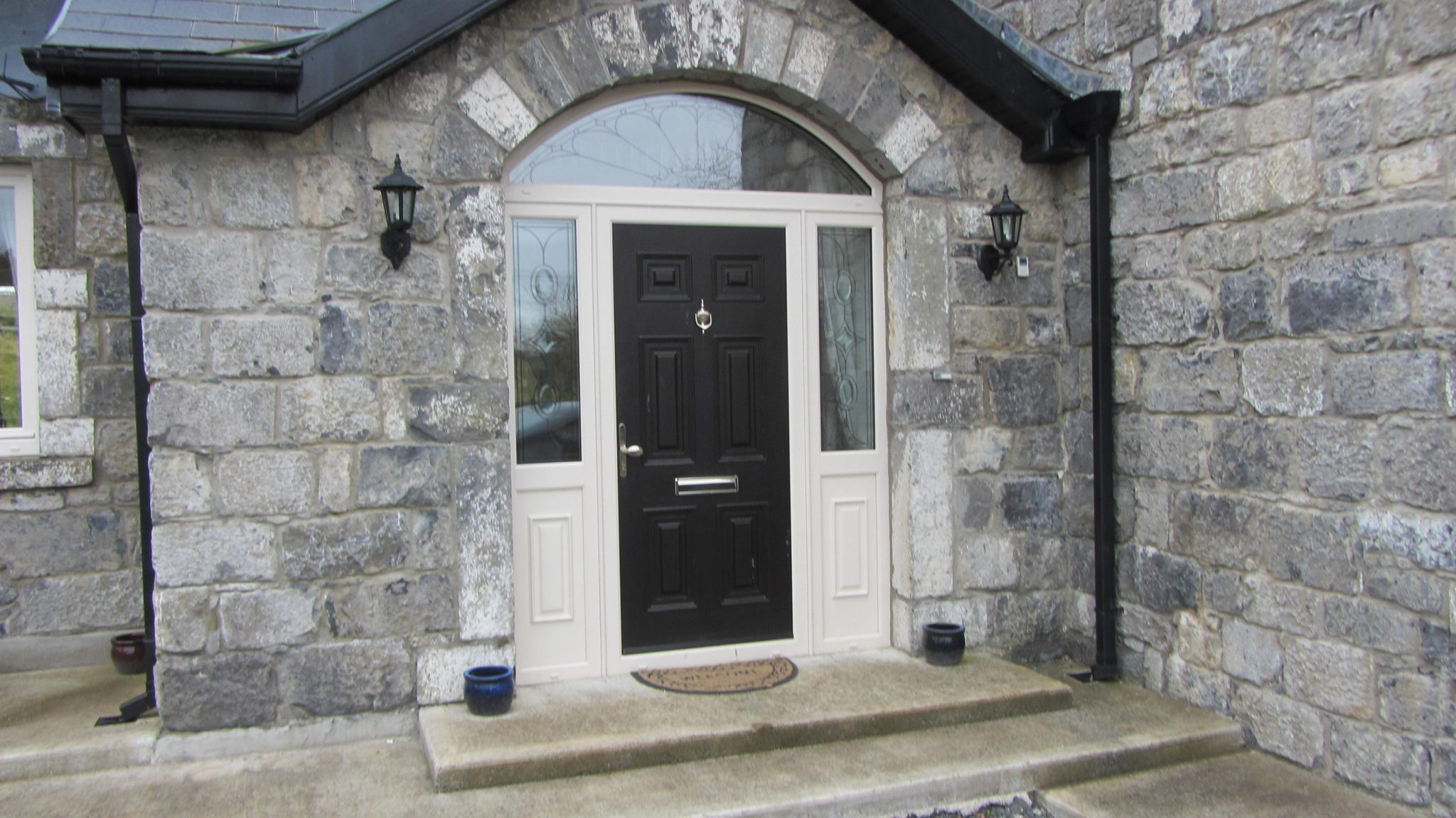 Georgian Solid Door, Composite Door, Palladio Door, Entrance Door, Front Door