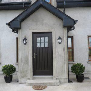 dublin door, bog oak, composite door, entrance door, front door