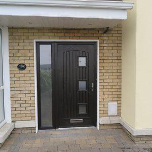Bog Oak Paris Front Door