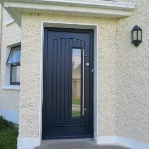 Grey Rome Composite Front Door