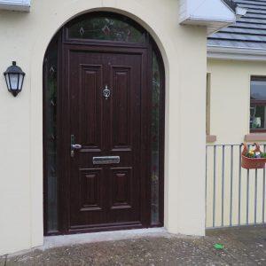 Palermo Rosewood Front Door In Bog Oak
