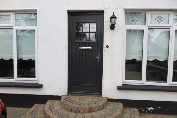 dublin door, anthracite grey, palladio door, composite door, entrance door