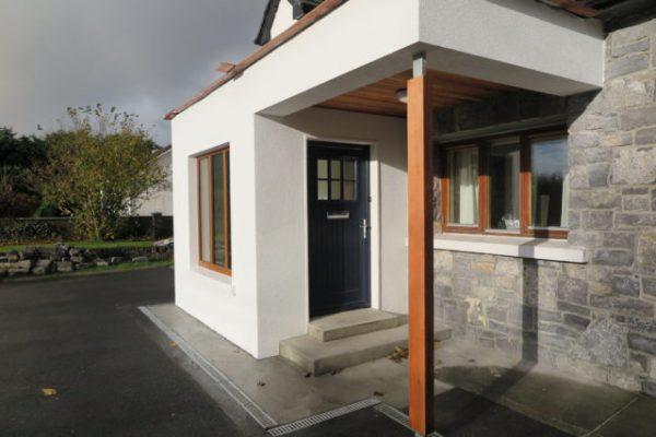 Dublin Door in Anthracite Grey