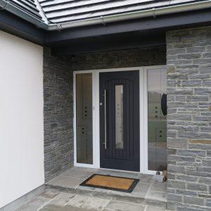 Grey Seville Composite Front Door
