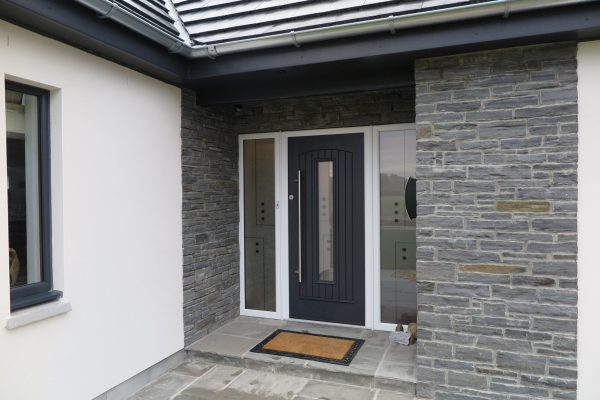 Grey Seville Composite Front Door