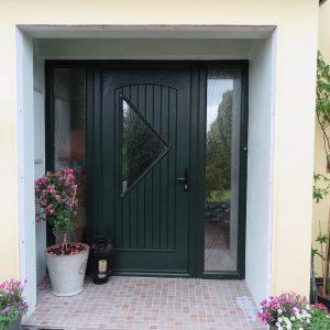 Monet Palladio Door In Green