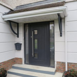 Turner Palladio Door, composite door, front door, entrance door,