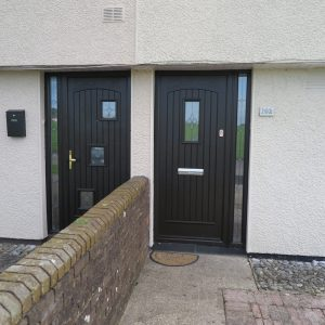 Joyce Bog Oak Palladio Front Door