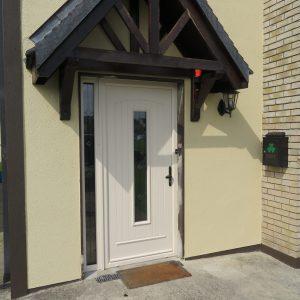 White Seville Composite Front Door