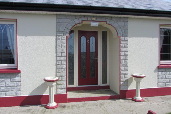 Red San Marco Front Door