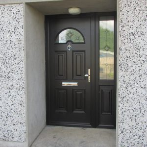 Bog Oak Sunbeam 1 Composite Front Door