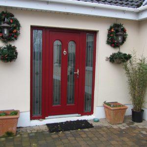 Red San Marco Compsite Door