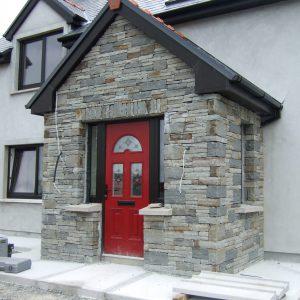 Red Sunbeam 2 Composite Front Door