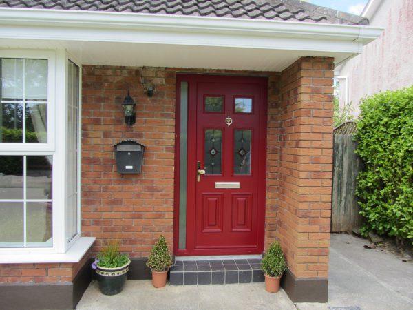 Red Georgian 2 Composite Door