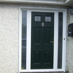 Green Gerogian I Composite Door