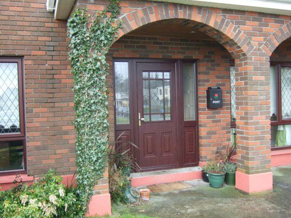Cairo Rosewood composite door