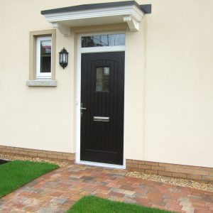 T & G composite door from the Palladio Door Collection