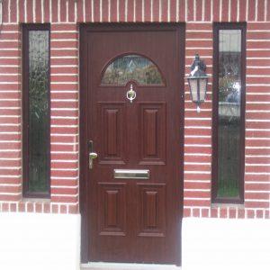 Rosewood Sunbeam 1 Composite Front Door