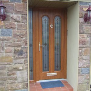 Light Oak San Marco Front Door
