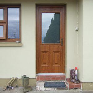 Naples style composite door