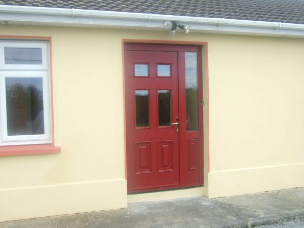 Red Georgian 2 Front Door