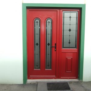 San Marco Composite Front Door In Bog Oak