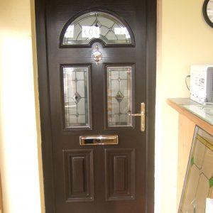 Bog Oak Sunbeam 2 Composite Front Door