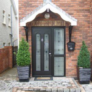 San Marco Bog Oak Composite Front Door