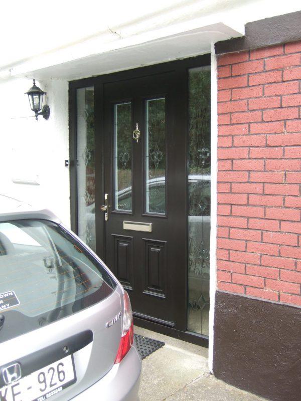 Palermo Bog Oak Composite Front Door