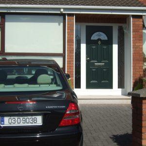 Green Sunbeam 2 Composite Front Door