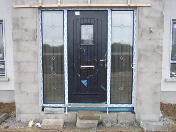 T & G Solid Composite Bog Oak Door
