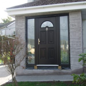 Bog Oak Sunbeam 2 Composite Front Door